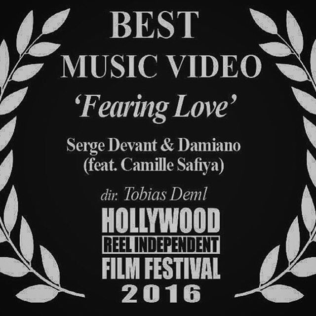 Our video FEARING LOVE won Best Music Video!