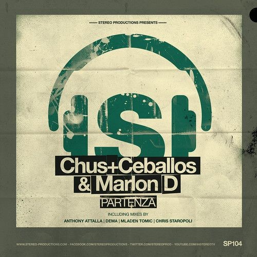 New release from Stereo Productions: Chus+Ceballos, Marlon D - Partenza