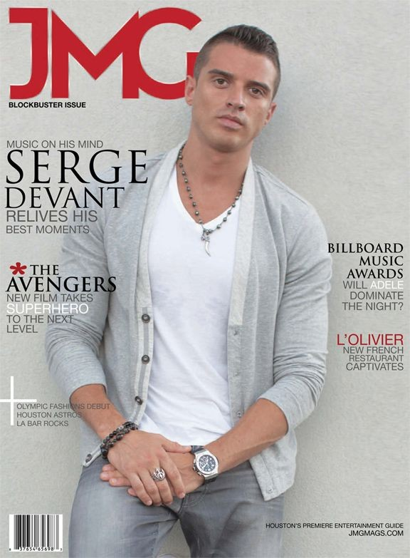 JMG magazine with Serge Devant