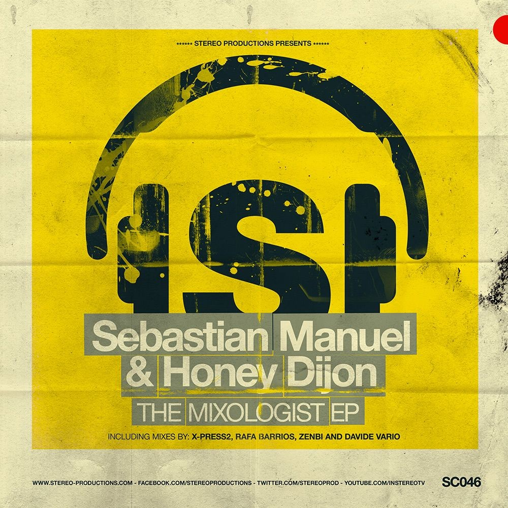 Новый релиз от Stereo Productions: Sebastian Manuel & Honey Dijon - The Mixologist EP
