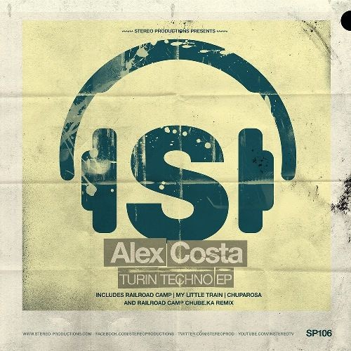 Новый релиз от Stereo Productions: Alex Costa - Turin Techno EP